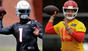 Comparing Kyler's situation to Mahomes' in '18