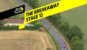 Echappée avec 40 coureurs / Breakaway with 40 riders - Étape 12 / Stage 12 - Tour de France 2019