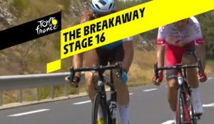 L'échappée / The breakaway - Étape 16 / Stage 16 - Tour de France 2019