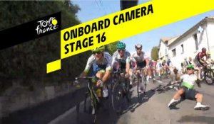 Onboard camera - Étape 16 / Stage 16 - Tour de France 2019