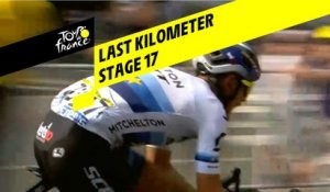 Last kilometer / Flamme rouge - Étape 17 / Stage 17 - Tour de France 2019
