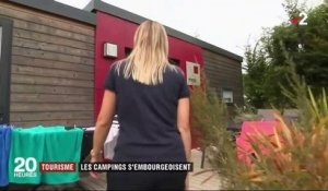 Vacances : les campings s'embourgeoisent