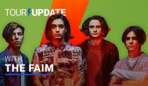 Tour Update: The Faim Establishes Their Live Identity