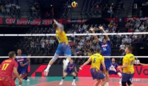 La France domine facilement la Roumanie - Volley - Euro (H)