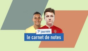De Golovine à Navas, le carnet de notes de la 7e journée - Foot - L1
