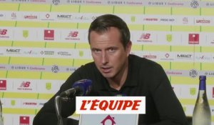 Stephan «On a manqué de patience» - Foot - L1 - Rennes