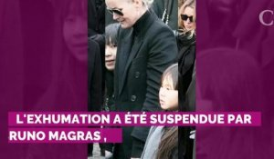 Johnny Hallyday : Laura Smet a obtenu la suspension de l'exhumation de son père, voulue par Laeticia