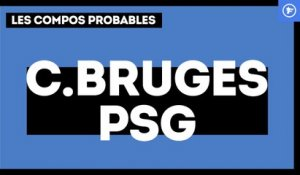 Les compositions probables de Club Bruges-PSG