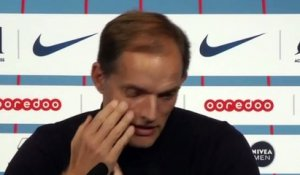 Football - Thomas Tuchel Press Conference PSG 4 - 0 OM