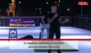 VIDEO. Spectacle sur glace à Amboise