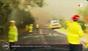 Australie : les incendies menacent Sydney