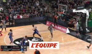 Les 16 points de Rodrigue Beaubois face à l'ASVEL - Basket - Euroligue - 9e j.
