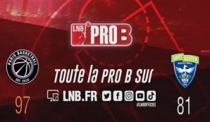 PRO B : Paris vs Saint-Quentin (J7)