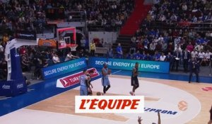 le Real Madrid s'impose face au Zenith - Basket - Euroligue (H)
