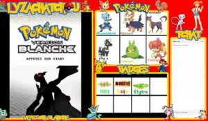 Arène de Volucité! - Mini streams - Live Pokémon version Blanche-LyzaChatchou (14/12/2019 22:00)