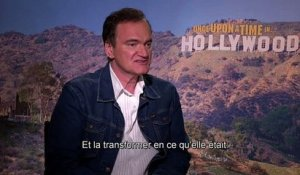 Once Upon a Time in Hollywood : les confidences de Quentin Tarantino (vidéo)
