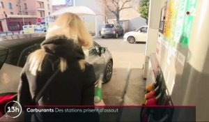 Carburants : les stations prises d'assaut