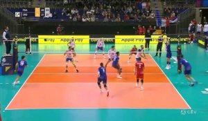 La France bat la Serbie d'entrée - Volley - TQO (H)