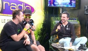 Martin Solveig et Jax Jones lors d'un interview avec Fun Radio à Tomorrowland