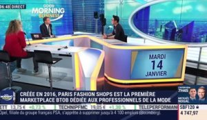 Jacky Zhengao Chang (Paris Fashion Shops): Paris Fashion Shops a remporté la BFM Académie 2019 - 14/01