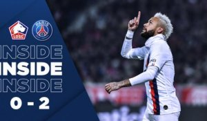 Inside : LOSC - Paris Saint-Germain
