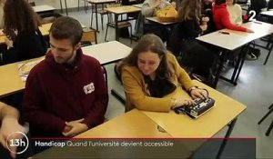 Handicap : quand l'université devient accessible