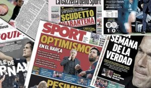 Le coronavirus affole l'Italie, le week-end terrible du Real Madrid