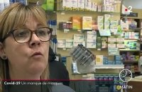 Covid-19 : les pharmacies en rupture de stock de masques