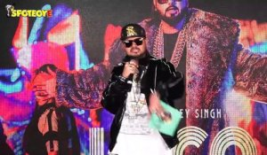 Punjabi Singer Yo Yo Honey Singh at the launch of his new party number Loca