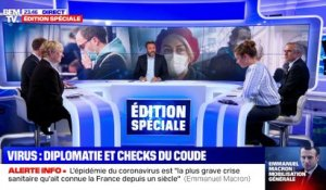 Virus : diplomatie et checks du coude - 12/03