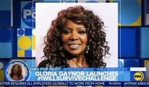 "VIRUS - Buzz mondial pour Gloria Gaynor qui apprend à se laver les mains sur l'air de ""I Will Survive"" - VIDEO"