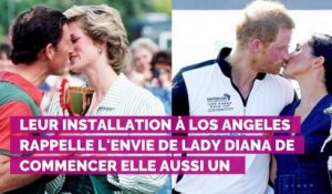 Meghan et Harry : pourquoi le couple suit les traces de Lady Diana en Californie