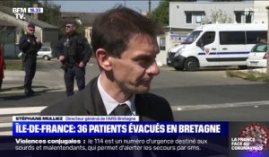 36 patients d'Île-de-France évacués en Bretagne