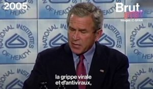 Quand George W. Bush présentait son grand plan anti-pandémie en 2005