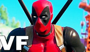 "DEADPOOL Fortnite ""X-Force"" Bande Annonce VF"