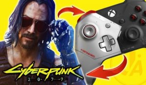Cyberpunk 2077 - NOUVELLE MANETTE Xbox One Johnny Silverhand