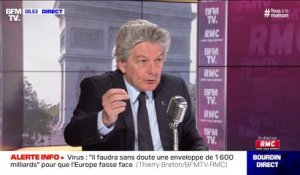 "Thierry Breton: ""Le tracking en Europe, c'est hors de question"""
