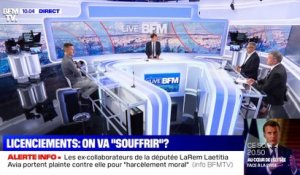 "Licenciements: on va ""souffrir"" ? - 18/05"