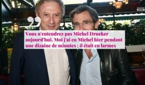 Guy Bedos mort : Michel Drucker incapable de lui rendre hommage