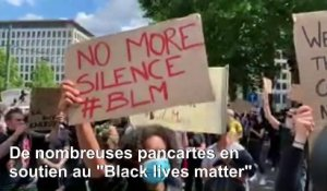 Manifestations contre le racisme à travers l'Europe
