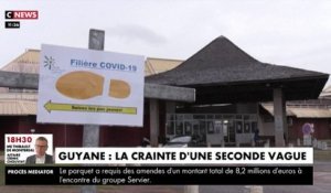Guyane : la crainte d'une seconde vague