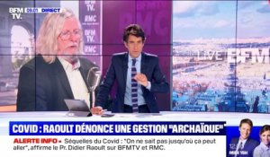 Raoult sur BFMTV: l'interview sous tension - 25/06