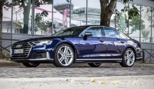 AUDI S8 : on a essayé la réduction de bruit.
