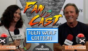 LINDEN ASHBY contre un fan dans un QUIZ TEEN WOLF