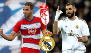 Grenade-Real Madrid : les compos probables