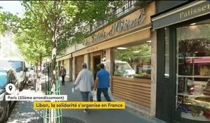 Liban : une solidarité massive venue de France