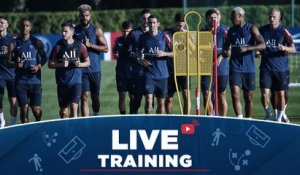 Replay : L'entraînement en direct de Faro à J-2 de Atalanta Bergame - Paris Saint-Germain !