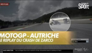 Le replay du crash de Zarco