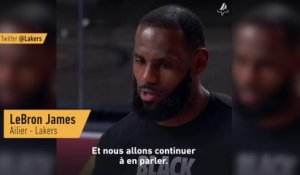 LeBron James : «C'est très perturbant» - Basket - NBA - Lakers