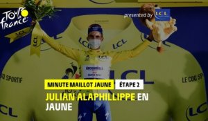 #TDF2020 - Étape 2 / Stage 2 - LCL Yellow Jersey Minute / Minute Maillot Jaune